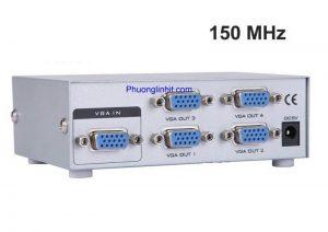 Bộ chia VGA 4 Port Splitter 150 MHz MT-Viki