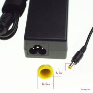 Adapter sạc laptop samsung 19V 4.7A chân tròn kim