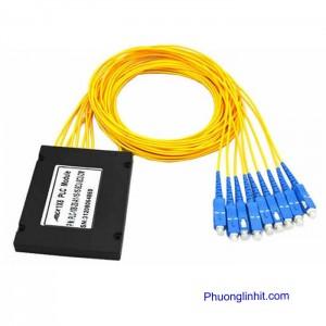 Bộ chia quang 1×8 – Optical Splitter PLC 1:8 chính hãng Optone