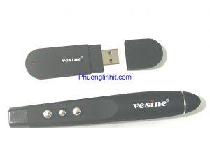 Bút trình chiếu powerpoint, bút laze thuyết trình Vesine VP101 chính hãng.
