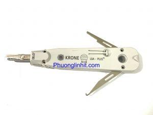 Tool nhấn phiến Krone LSA Made in EU, Dao phập phiến có kéo cắt