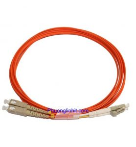 Dây nhảy quang SC-LC/UPC Multi-mode OM2 3.0mm Sợi đôi 1,5m.