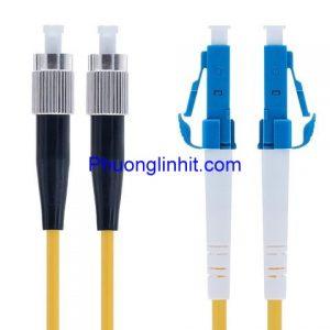 Dây patch cord quang Single-mode FC-LC/UPC Sợi đôi 5m