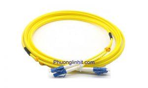 Dây nhảy quang Single-mode LC-LC/UPC Sợi đôi 1,5m