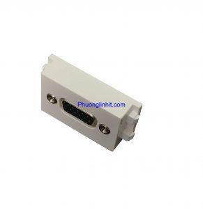 Nhân ổ cắm VGA loại cắm thẳng, chuẩn Wide lắp mặt Panasonic