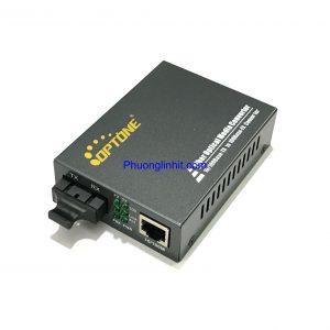 Bộ chuyển đổi quang điện 2 Sợi hãng Optone OPT-1100S25