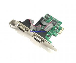 Card PCI Express sang 2 cổng COM DB9 (PCI-E to 2 port RS232- 9 Pin)