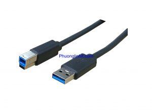 Cáp nối máy in USB 3.0, cắm nối HDD box, Docking dài 1,8m
