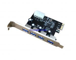 Card chuyển đổi PCI Express to 4 Port USB 3.0