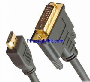 Cáp DVI-D 24+1 to HDMI Converter HDMI to DVI 24+1 dài 1.5m