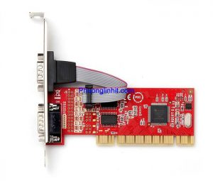 Cạc chuyển đổi PCI sang RS232 COM 9 Unitek Y-7503 Chính hãng