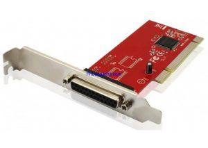Cạc chuyển PCI to LPT DB25 chân Unitek Y-7505 Chính hãng