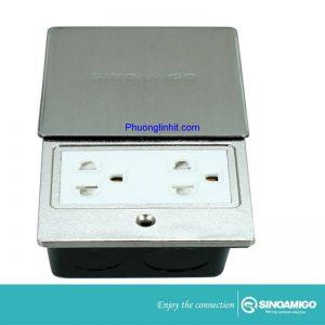 ổ cắm điện âm sàn nắp trượt Sino Amigo SHP-M1S Cao cấp chính hãng