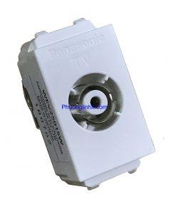 Hạt ổ cắm Anten Tivi chuẩn Wide chính hãng Panasonic