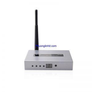Bộ khuếch đại, thu phát HDMI không dây WIFI 50M chính hãng Dtech DT-7060