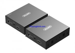 Bộ kéo dài cáp HDMI to LAN 150m chính hãng Unitek V101A