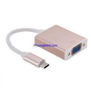 Cáp chuyển USB Type-C sang VGA Adapter Converter