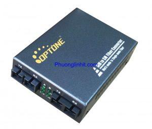 Bộ chuyển đổi quang Single-mode sang Multi-mode OPT-2020MS chính hãng Optone