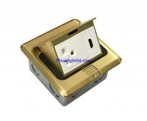 Phân phối ổ cắm điện 3 chấu có tiếp địa lắp âm sàn hãng Sinoamigo SPU-1B