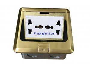 Ổ cắm điện âm sàn Sinoamigo SPU-1B gồm ổ 3 chấu chuẩn Anh chính hãng