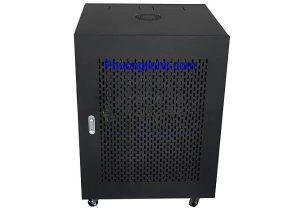 Tủ Rack 15U D600 tủ mạng 15U sâu 600 gồm quạt và ổ cắm đi kèm