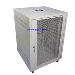 Tủ Rack 20U D600 tủ mạng 20U sâu 600 gồm quạt và ổ cắm đi kèm