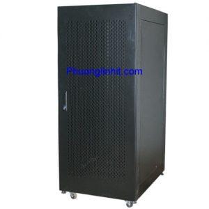 Tủ mạng, tủ Rack 42U D600 hàng cao cấp, có quạt và ổ cắm đi kèm