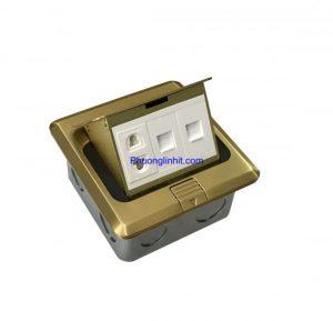 ổ cắm điện thoại và mạng âm sàn hãng Sinoamigo SPU-1B tại Hà Nội