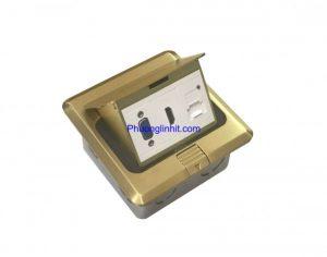 Ổ cắm âm sàn Sinoamigo gồm VGA, HDMI và Sạc USB 5v chính hãng