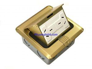 Ổ cắm điện 3 chấu dẹt chuẩn Úc âm sàn chính hãng Sinoamigo SPU-1B