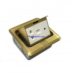 Ổ cắm âm sàn Sinoamigo SPU-1B, đầy đủ phụ kiện chính hãng