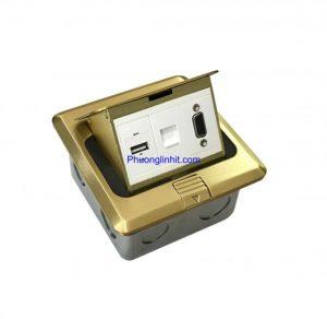 Ổ cắm mạng âm sàn hãng Sinoamigo SPU-1B gồm nhiều modul