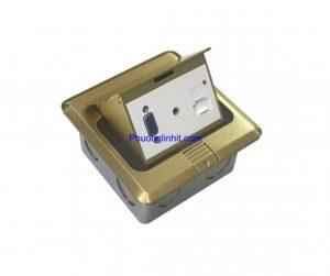 ổ cắm âm sàn Sinoamigo SPU-1B, đủ phụ kiện chính hãng giá rẻ