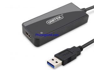 Cáp chuyển USB 3.0 sang HDMI chính hãng Unitek (Y-3702)