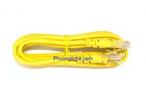 Dây mạng cat5, dây patch cord cat5 đúc sẵn 2 đầu Rj45 dài 1,5m