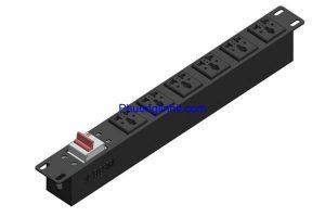 Thanh nguồn PDU đa năng 6 ổ cắm 3 chấu chuẩn 19″ dùng cho tủ mạng