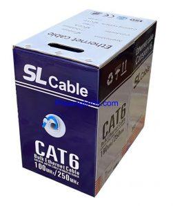Dây mạng SL Cat6 UTP 23AWG hàng chính hãng