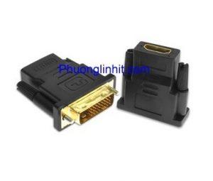 Đầu chuyển DVI 24+1 to HDMI hàng cao cấp chạy ổn định