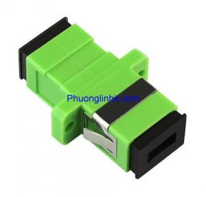 Adapter quang SC-SC APC Simplex (Xanh lá)
