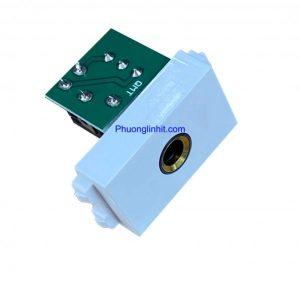 Hạt audio jack 6ly type 120/128 dùng cho ổ cắm âm sàn âm bàn