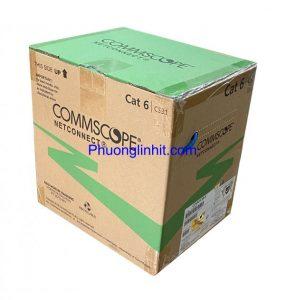 Bán lẻ cáp mạng Commscope Cat6 bấm sẵn đầu zắc hàng chính hãng