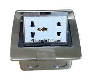 Ổ cắm điện đa năng âm sàn Sino amigo SPU-3S gồm Modules