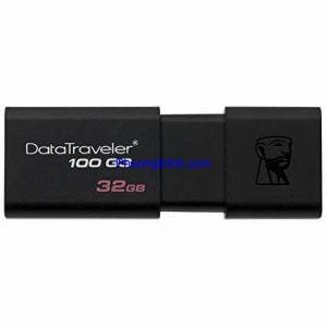 USB Kingston 32GB 3.0 DT100G3 (Black) chính hãng