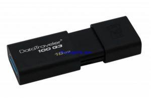 USB Flash 16GB Kingston – DT100G3 hàng chính hãng