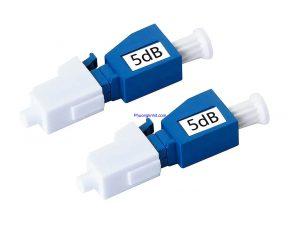 Đầu nối suy hao quang LC/UPC 5dB