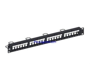 Thanh Patch panel 24 port COMMSCOPE Cat6 | PN: 9-1375055-2 chính hãng