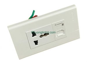 Ổ cắm điện đa năng âm tường có cổng sạc usb 5V-1000mA