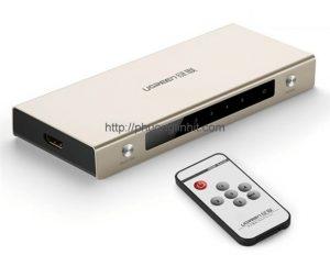 Bộ chuyển mạch 5 vào 1 ra HDMI 1.4 hỗ trợ 4k x 2k chính hãng Ugreen 40279