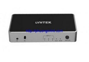 Bộ Gộp HDMI 3 vào 1 ra Unitek V1111A chính hãng hỗ trợ 4K