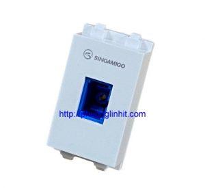 Nhân cáp quang, hạt ổ cắm quang chuẩn SC âm tường chính hãng Sinoamigo